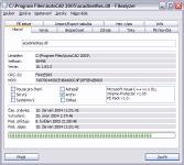FileAlyzer - větší obrázek z programu