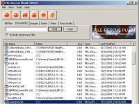 File-Rescue Plus - větší obrázek z programu