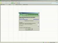 Internet Download Accelerator - větší obrázek z programu