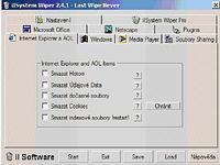 iISystem Wiper - větší obrázek z programu