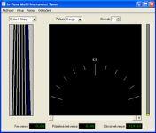 In-Tune Multi-Instrument Tuner - větší obrázek z programu