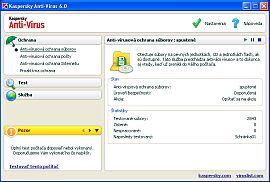 Kaspersky Anti-Virus 6 - větší obrázek z programu