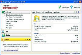 Kaspersky Internet Security 6 - větší obrázek programu