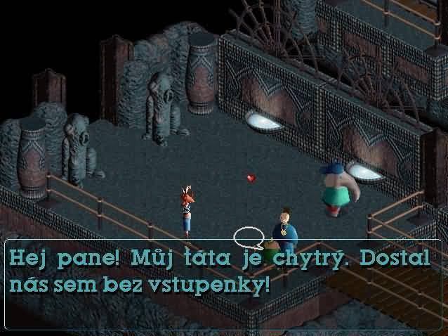 Little Big Adventure 2 - větší obrázek ze hry