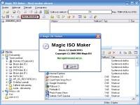 Magic ISO Maker - větší obrázek z programu
