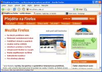 Mozilla Firefox - větší obrázek z programu