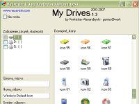 My Drives - větší obrázek z programu