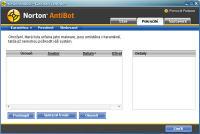 Norton Antibot - větší obrázek z programu