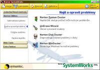 Norton SystemWorks 2004 - větší obrázek z programu