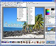 Paint Shop Pro X - větší obrázek z programu