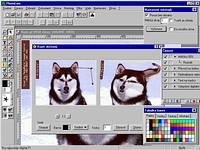 PhotoLine 32 - větší obrázek z programu