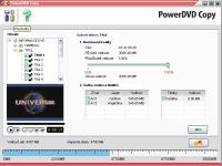 PowerDVD Copy - větší obrázek z programu