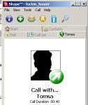 Skype - větší obrázek z programu
