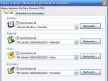 Sony Ericsson PC Suite - větší obrázek z programu