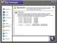 Spy Sweeper - větší obrázek z programu