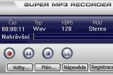 Super Mp3 Recorder - větší obrázek z programu
