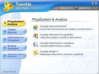 TuneUp Utilities 2006 - větší obrázek z programu