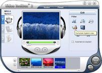Ulead Video ToolBox Home Edition - větší obrázek z programu