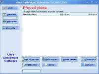 Ultra Video To Flash Converter - větší obrázek z programu