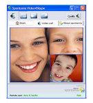 Video4Skype - větší obrázek z programu