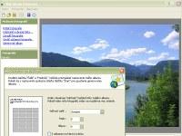 Web Album Generator - větší obrázek z programu