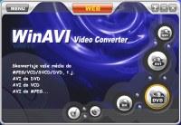 WinAVI VideoConverter - větší obrázek z programu