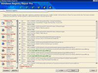Windows Registry Repair Pro - větší obrázek z programu