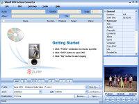 Xilisoft DVD to Zune Converter - větší obrázek z programu