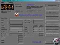 Diablo 2 Editor - větší obrázek z editoru