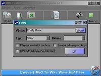Mp3 To All Converter - větší obrázek z programu