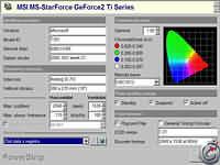 PowerStrip  - větší obrázek z programu