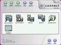 TI Connect - větší obrázek z programu