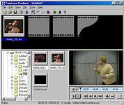 Camtasia Producer - větší obrázek z programu
