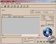 CD Copy - větší obrázek z programu