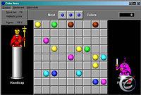 Color linez - větší obrázek ze hry
