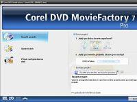 Corel DVD MovieFactory 7 - větší obrázek z programu