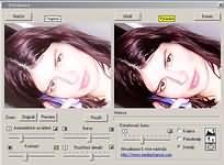 DigitalEnhancer 1.3 - větší obrázek z programu