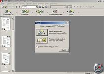 FineReader 5.0 - větší obrázek z programu