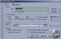 JPEG ReSizer - větší obrázek z programu