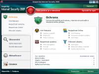 Kaspersky Internet Security - větší obrázek z programu