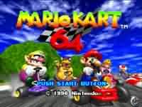 MarioKart64 - větší obrázek ze hry