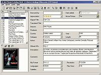 Movie Catalog  - větší obrázek z programu