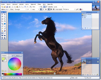 Paint.NET - větší obrázek z programu