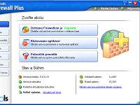 PC Tools Firewall Plus - větší obrázek z programu