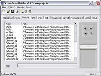 Screen Saver Builder 3.22 - větší obrázek z programu
