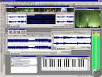 Sound Forge 5.0 - větší obrázek z programu