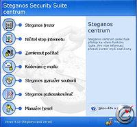 Steganos Security Suite 4 - větší obrázek z programu