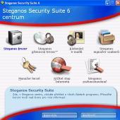 Steganos Security Suite 6 - větší obrázek z programu