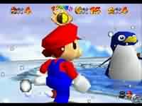 SuperMario64 - větší obrázek ze hry