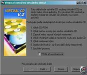 Virtual CD 2.06 - větší obrázek z programu